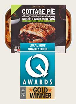 Discover the Choice - Q Awards Gold Winner - Cottage Pie
