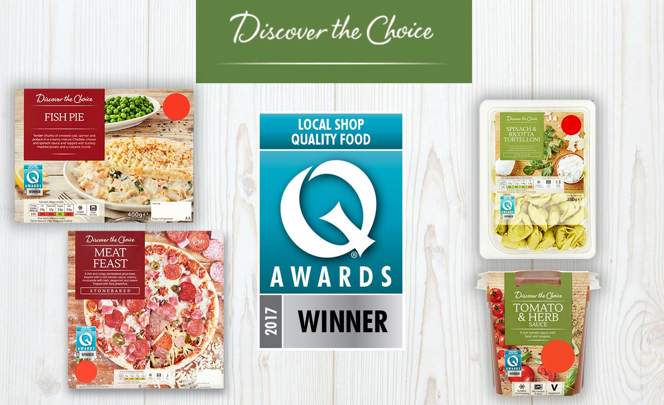 Local Shop Quality Food Q Awards 2017 Winner